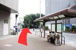 <JR線・臨海線からのアクセス> JR大井町駅の中央西方面の左の階段を下りてください。 臨海線大井町駅のA2出口から出て下さい。 どちらもバス停が見えると思います。 バス停を右に見ながら直進してください。