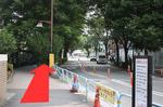 阪急大井町ガーデンを右に見ながら線路沿いを大森方面に向かってください。