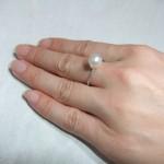7.5㎜珠の場合のリング