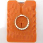 8.シルバーで作ったリングのゴム型を作る
