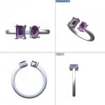 CAD 2 AMETHIST RING 07