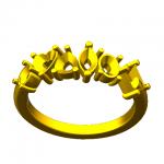 CAD 6 PERIDOT RING 09