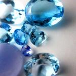 青色系の色石